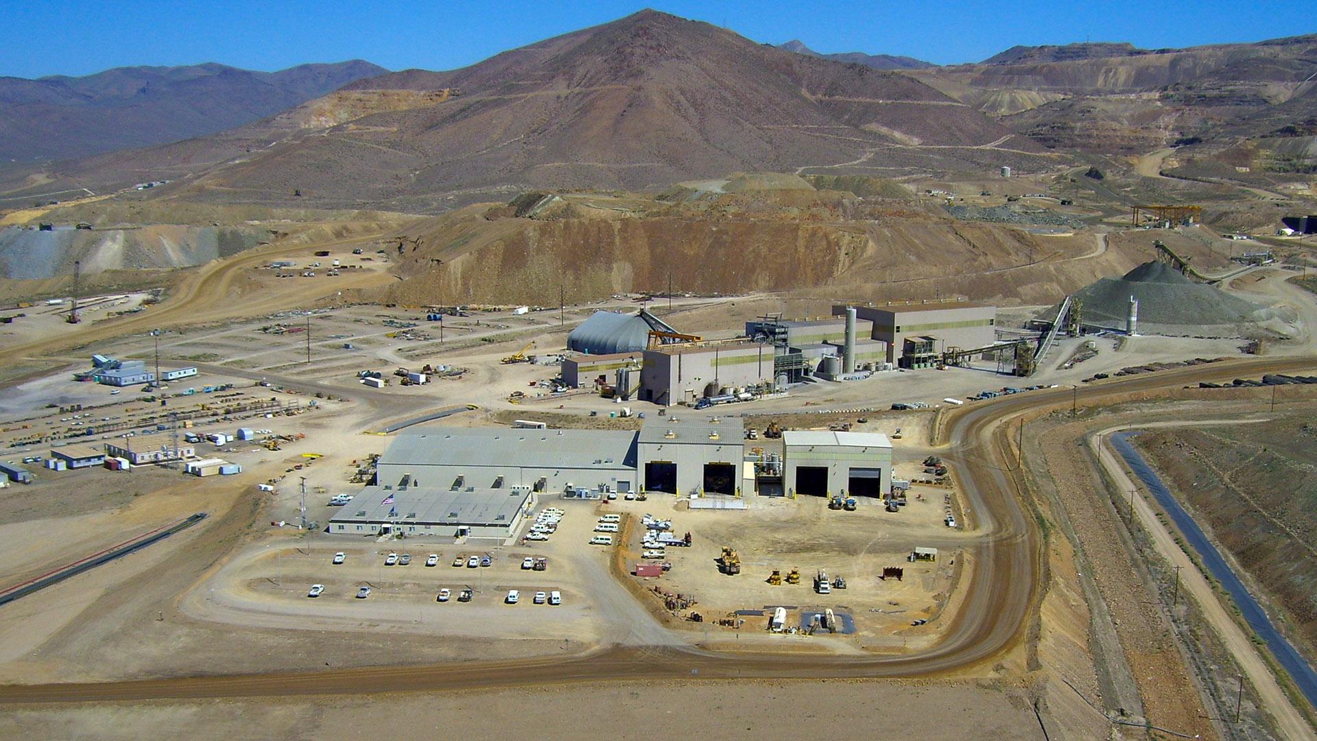Cortez Hills Gold Mine Ames Construction